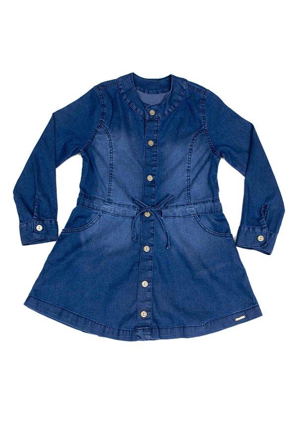Vestido Jeans M/Longa Confort