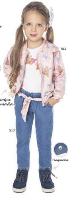 Calça Jeans Menina Confort