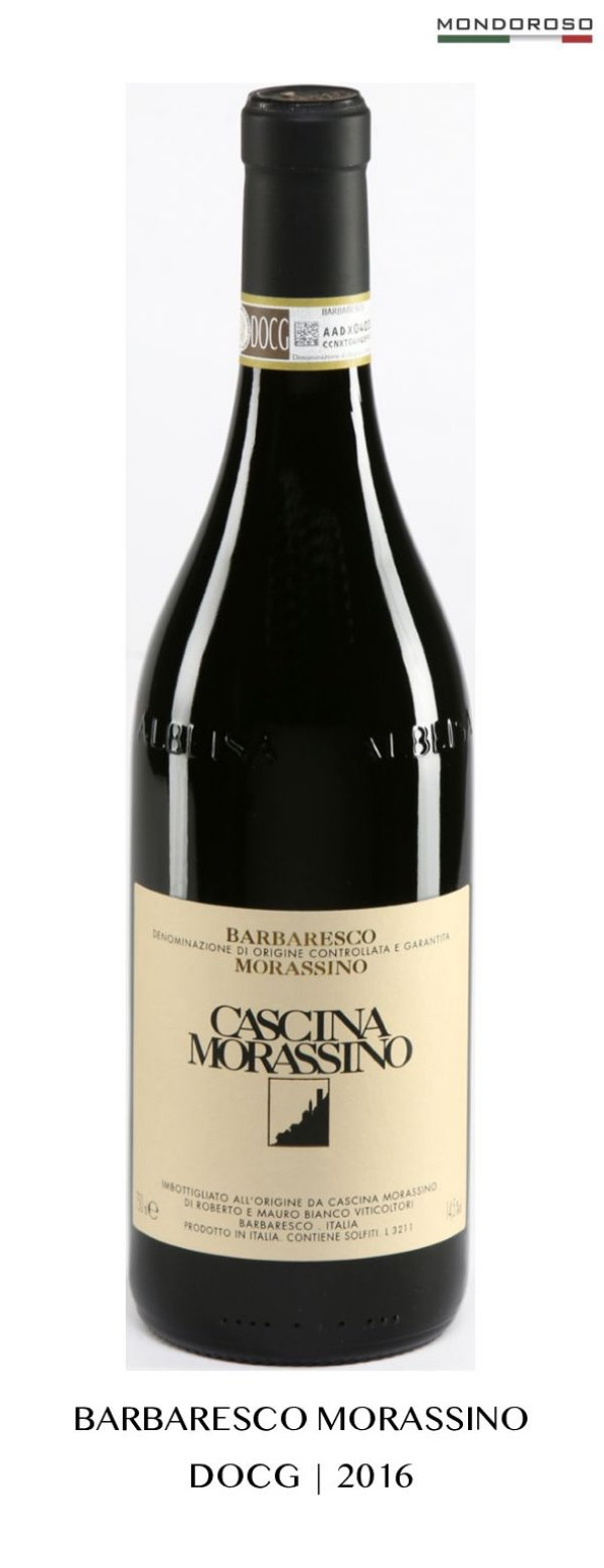 BARBARESCO MORASSINO DOCG 2016 14,50% 0,75L