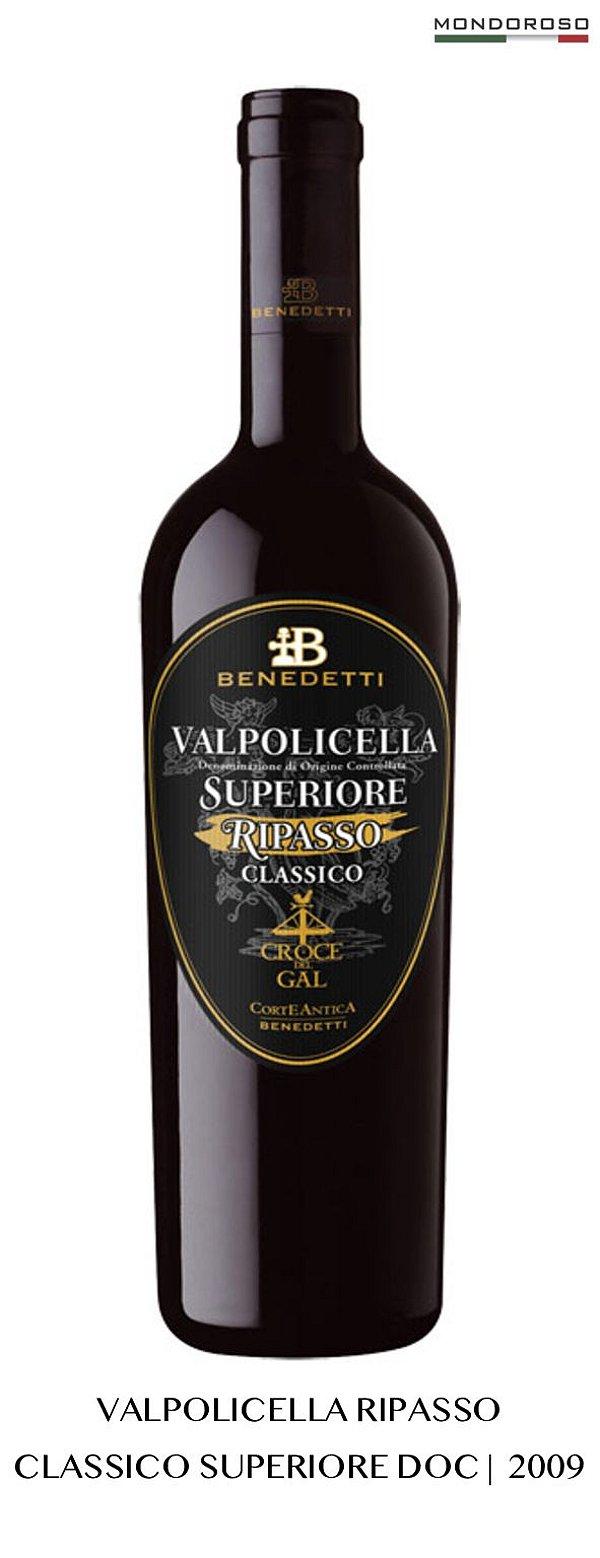 VALPOLICELLA RIPASSO CLASSICO SUPERIORE CROCE DEL GAL BLACK DOC 2009 15,50% 0,75L