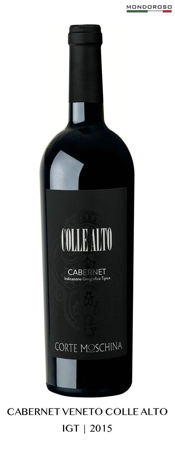 CABERNET VENETO COLLE ALTO VENETO IGT 2015 13,00% 0,75L