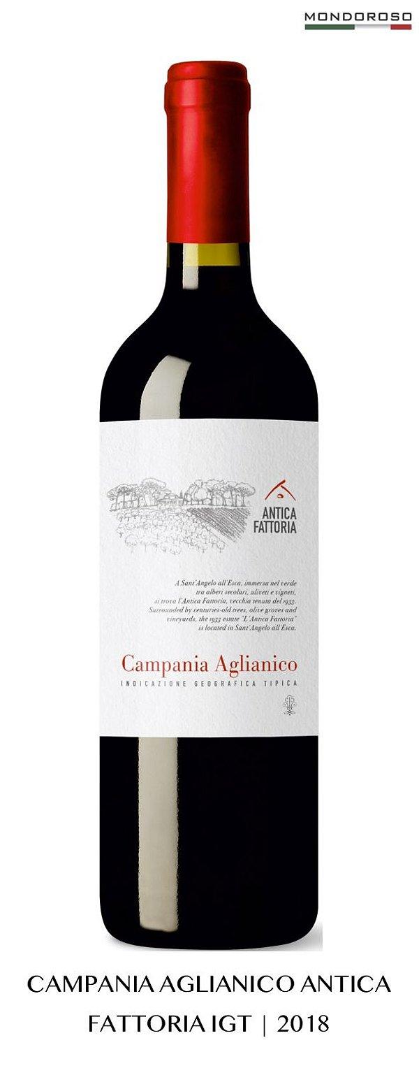 CAMPANIA AGLIANICO IGT 2018 ANTICA FATTORIA 13,00% 0,75L