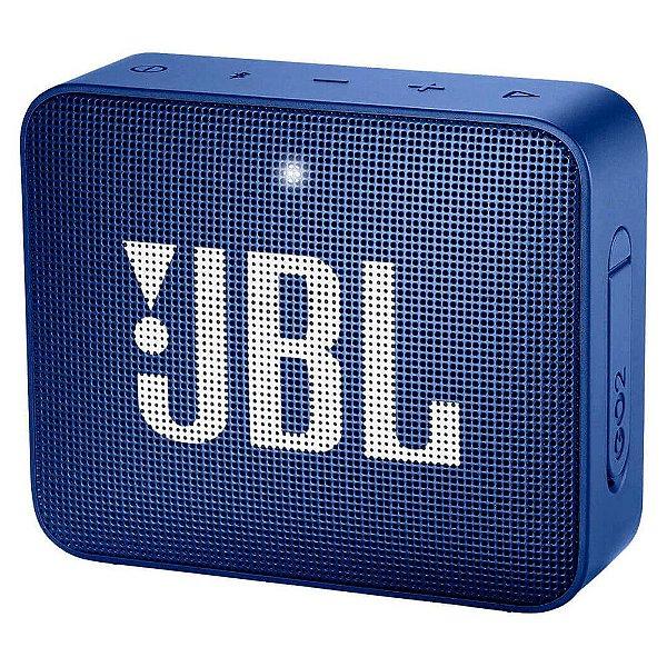 Caixa de Som Bluetooth JBL GO 2, Azul, IPX7 2, À Prova D´Água