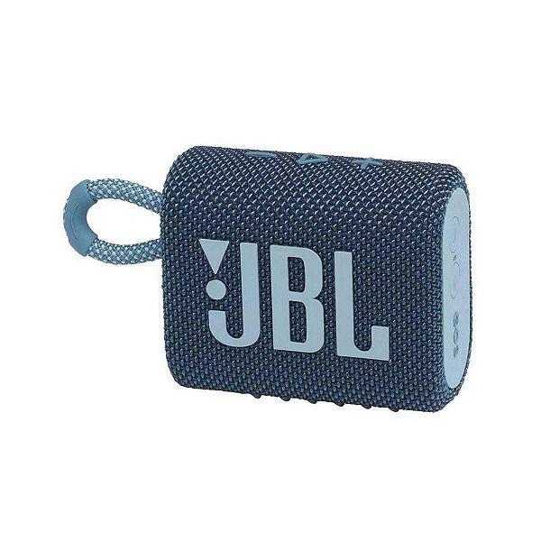 Caixa de Som Bluetooth JBL GO 3 Azul
