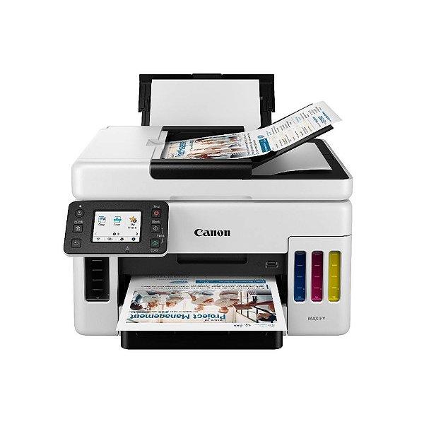Impressora Multifuncional Canon Jato de Tinta Pixma GX6010