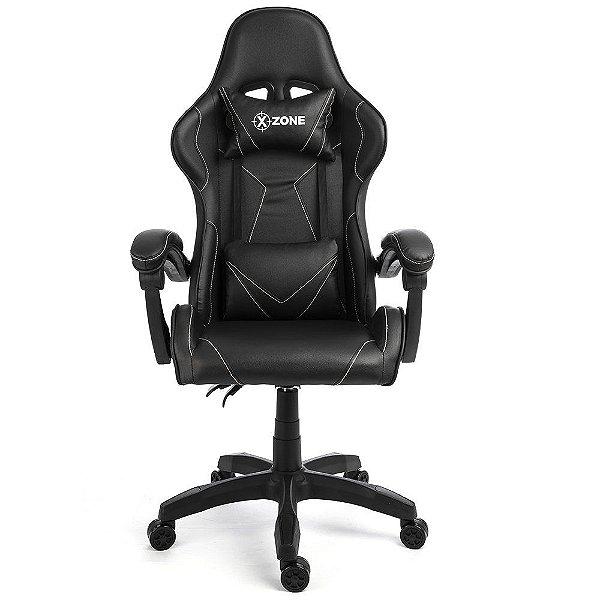 Cadeira Gamer Premium XZONE CGR-01, Preta, Reclinável
