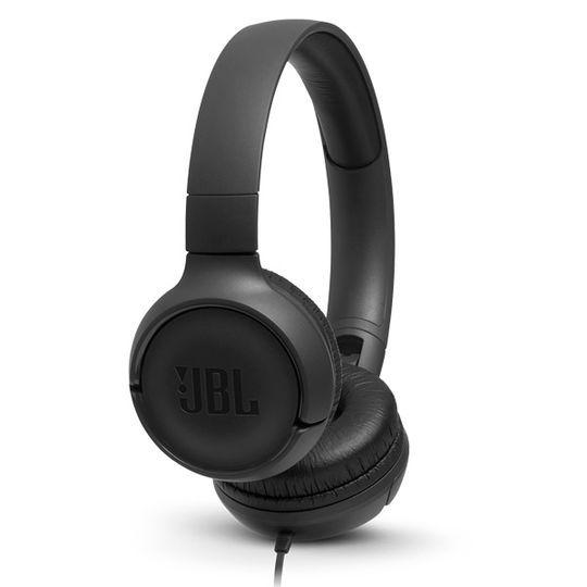 Headphone JBL Tune 500 Com Fio Preto