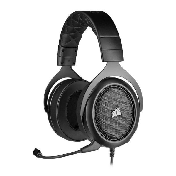 Headset Corsair HS50 PRO Gaming Carbono, Drivers 50MM
