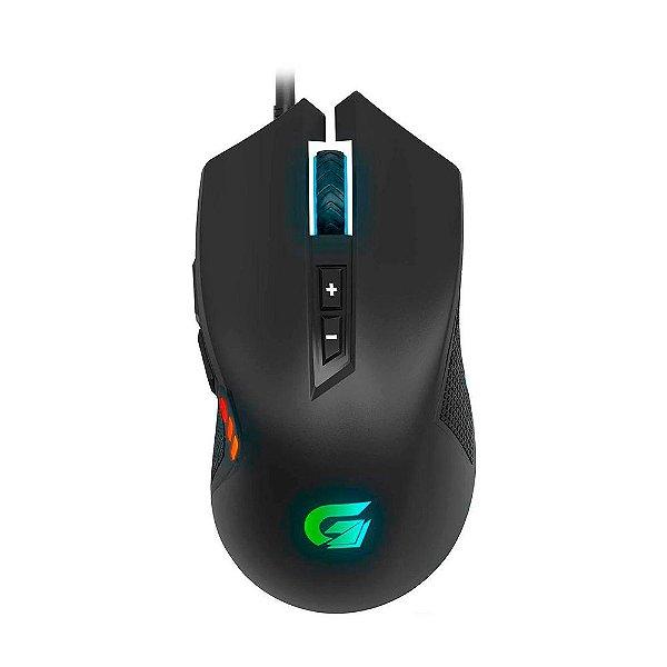 Mouse Gamer Fortrek Vickers RGB 4200DPI Preto