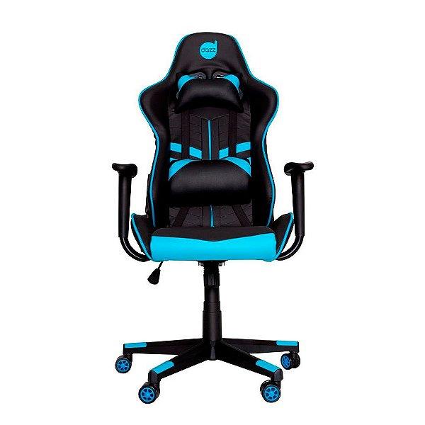 Cadeira Gamer Dazz PrimeX Preto/Azul