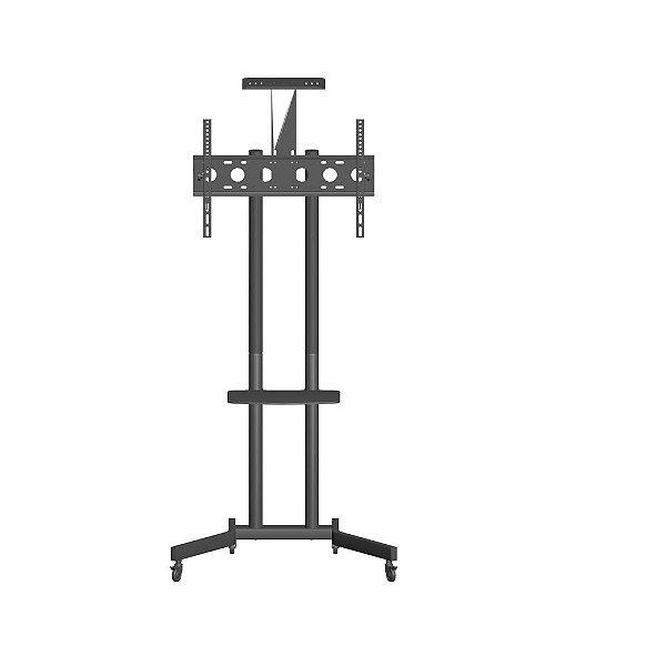 Suporte ELG Pedestal com Rodas e Regulagem para TVs  A06V6-S