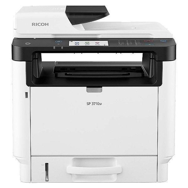 Impressora Multifuncional Ricoh Laser Monocromática Sp 3710Sf