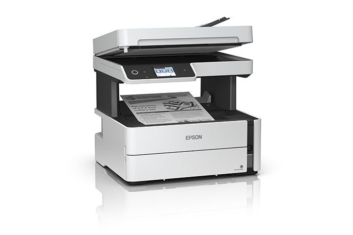 Impressora Multifuncional Epson Ecotank M3180 Jato de Tinta, Monocromática, Wi-fi, Bivolt - C11Cg93302