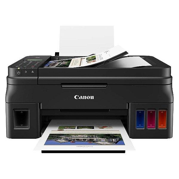 Impressora Multifuncional Canon G4111 Pixma, Jato de Tinta, ADF, Colorida, Bivolt