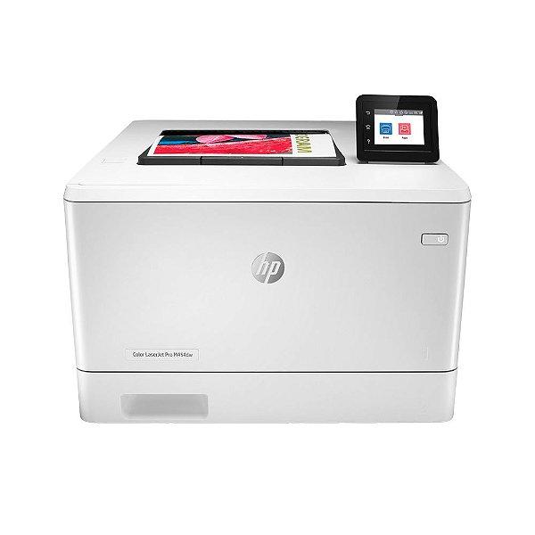 Impressora HP LaserJet Pro M454 dw Colorida, Laser, Wi-Fi, 110V