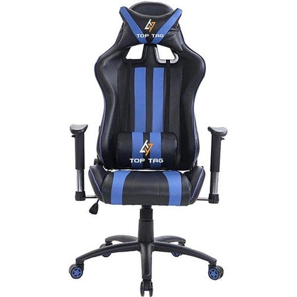 Cadeira Gamer Giratória Azul Hs9206Bl