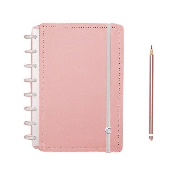 Caderno Inteligente Rose Pastel - A5
