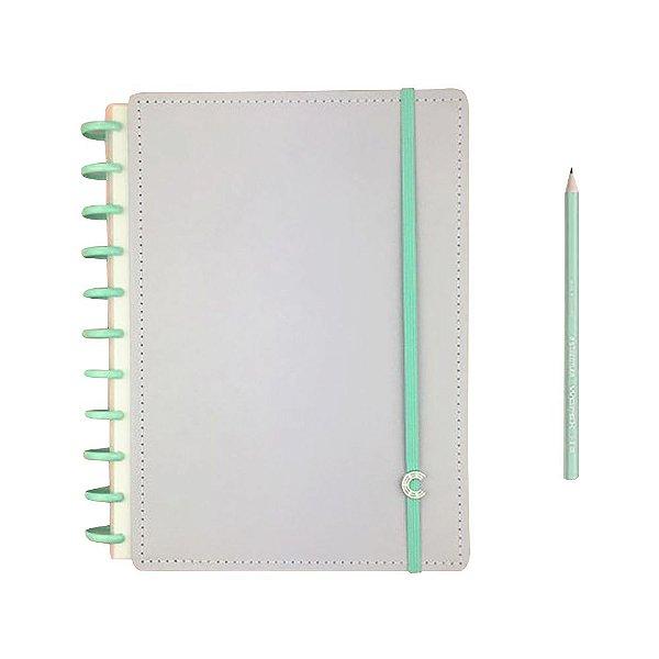 Caderno Inteligente Lilás Pastel Grande +