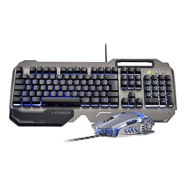 Teclado e Mouse Gamer Warrior Ragnar Keon Multilaser - Tc223