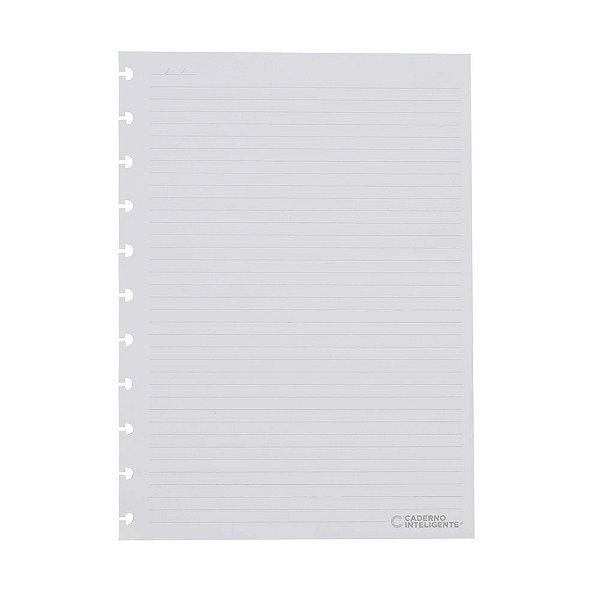 Refil Pautado Caderno Inteligente Grande 90g com 50 folhas