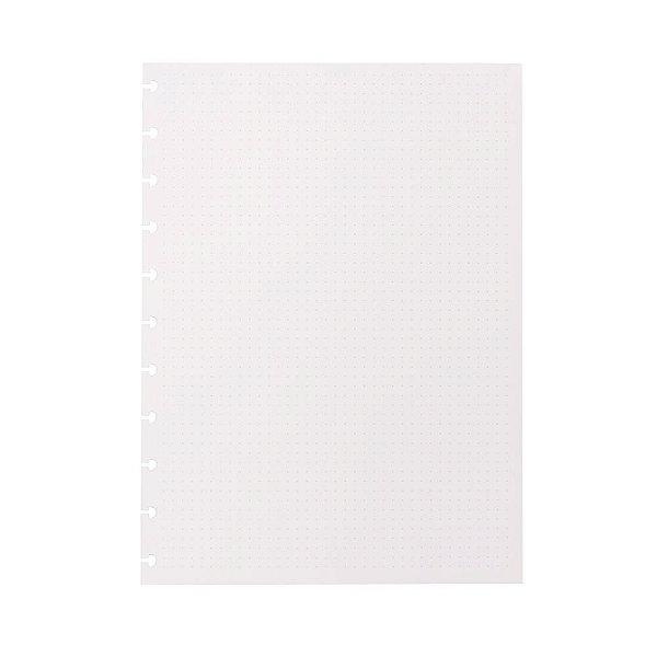 Refil Pontilhado Caderno Inteligente Grande