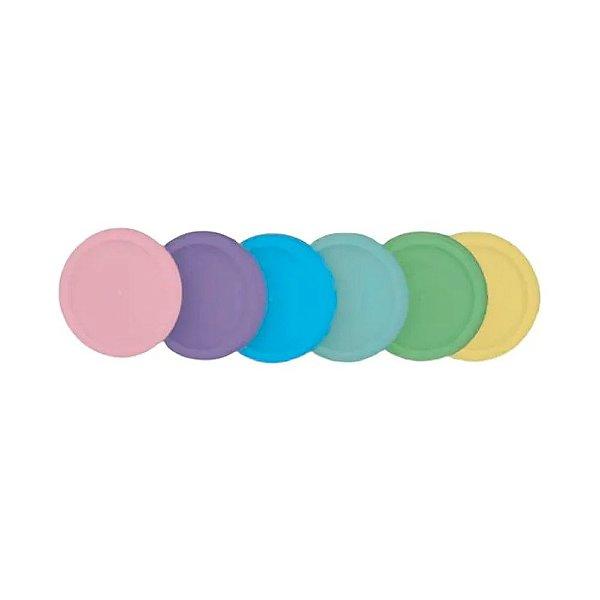 Discos + Elastico Diversidade brasileira Caderno Inteligente G (31mm)