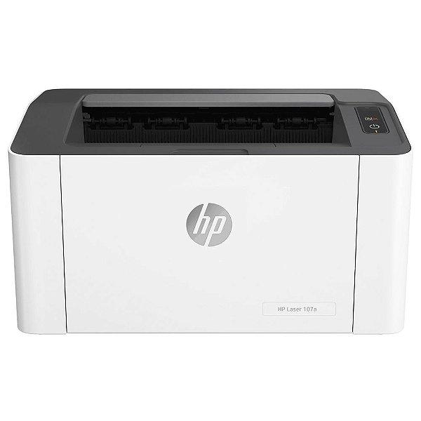 Impressora HP Laser 107A Monocromática, 110V, USB