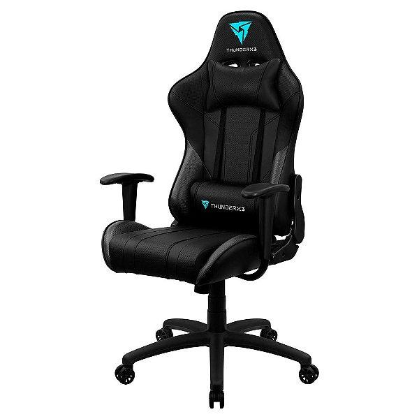 Cadeira Gamer EC3, Thunderx3, Preta