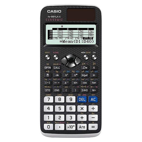 Calculadora Científica Casio FX991LAX BK-S4-DH Preta