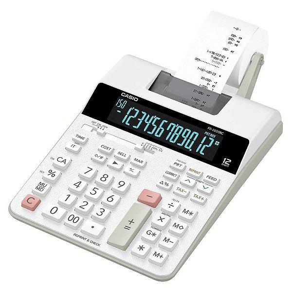 Calculadora Com Bobina Casio FR2650RC B-DC Branca
