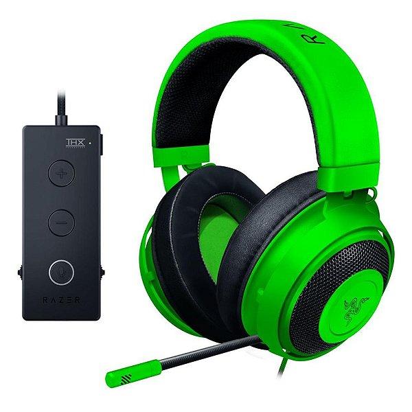 Headset Gamer Razer Kraken Tournament Green USB