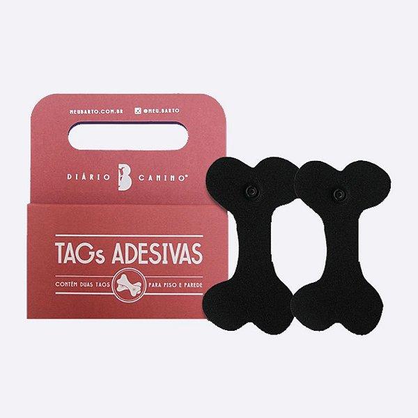 TAGS ADESIVAS - Piso e Parede (13x7 cm)
