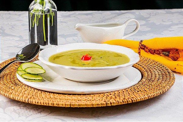 O3MS - Sopa fit de abobrinha sem lactose