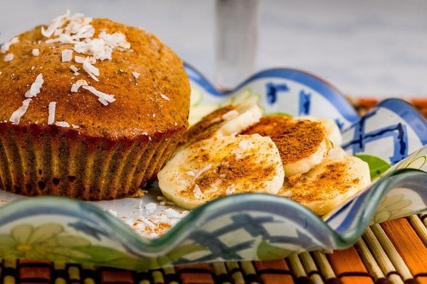 LS3MS - Muffin de Banana com Cacau
