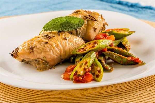 LOW5 - Frango com quiabo (Low Carb)