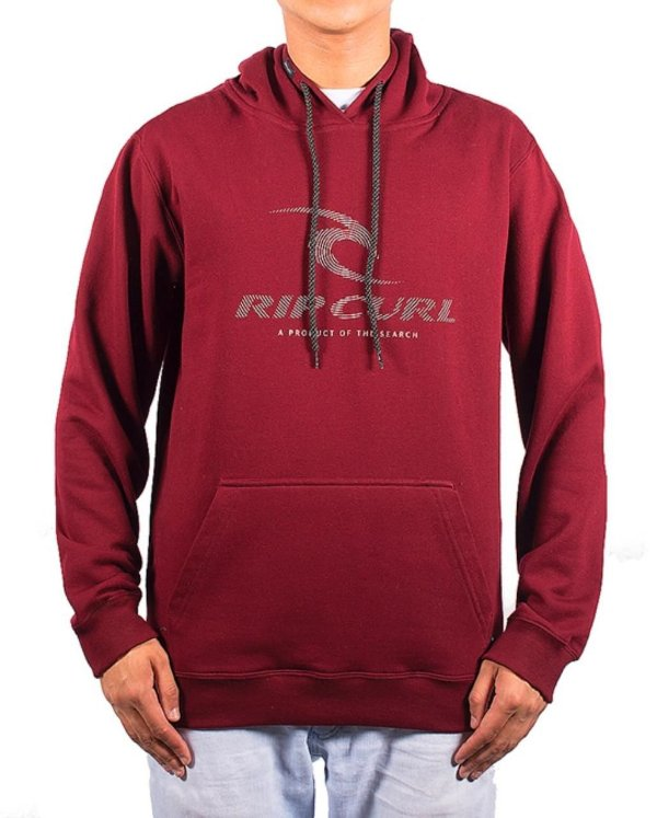 CANGURU RIP CURL LIVE ICON STRIPE BORDÔ