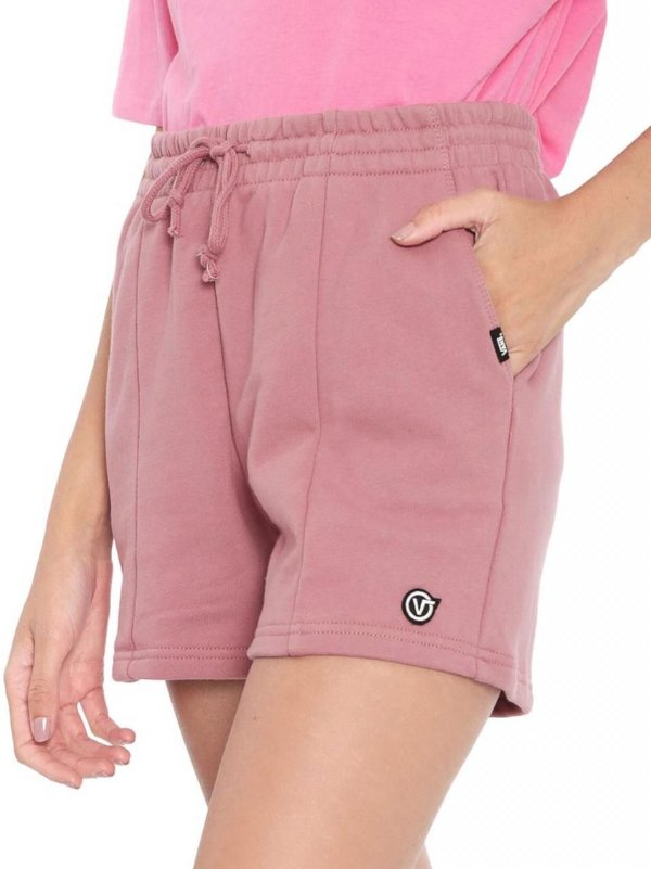 SHORTS VANS STRAIGHTENED OUT ROSA