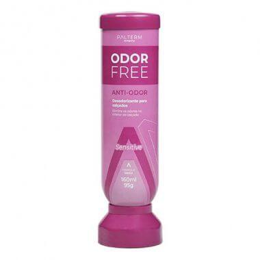 Desodorante para os pés Odor Free Palterm Promoção Rosa