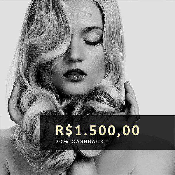 Voucher de R$ 1.500 | Cashback de 30%