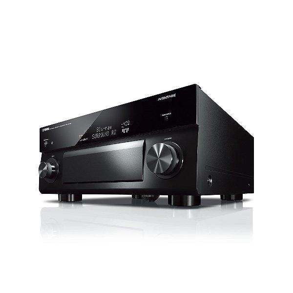 Receiver Yamaha Aventage RX-A2080 BL 9.2ch Wi-Fi MusicCast Airplay Bluetooth 4K UltraHD