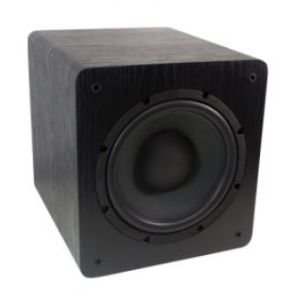"Subwoofer ativo para Home Theater Wave Sound WSW10 200W RMS 10"" - Black -  120V"