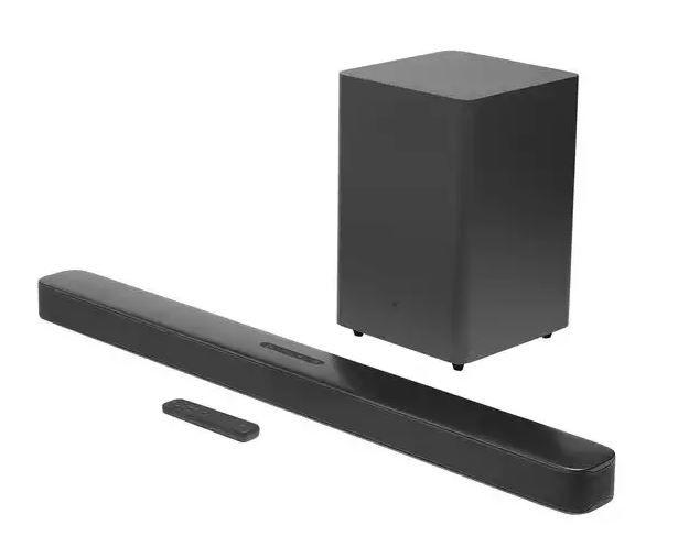Soundbar JBL Bar 2.1 Surround Deep Bass Dolby Digital Bluetooth HDMI - Black