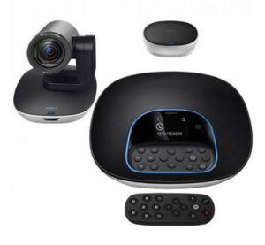 Sistema de Videoconferência Group Logitech para salas de reunião de 14 a 20 pessoas