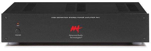 Amplificador de potência Advanced Audio Technologies - 2 canais 140W / 280W RMS máximo - Bivolt