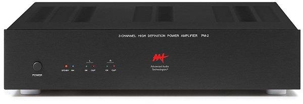 Amplificador de potência Advanced Audio Technologies - 2 canais 430W / 860W RMS máximo - Bivolt