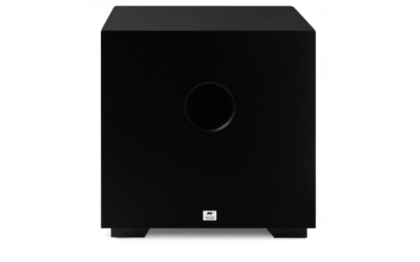 "Subwoofer AAT Ativo Compact CUBE 10"" 240W - Black/White - Bivolt"