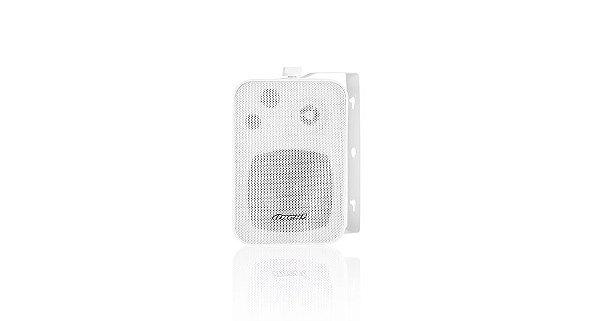Par de Caixas de Som 60W - Oneal Audio OB-115 - Black/White