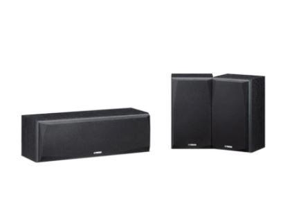 Conjunto de Caixas Acústicas Central + Bookshelf 180w 2 Vias C/ Blindagem Magnética Yamaha NS-P51