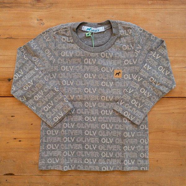Camiseta Estampada Oliver Tamanho 1