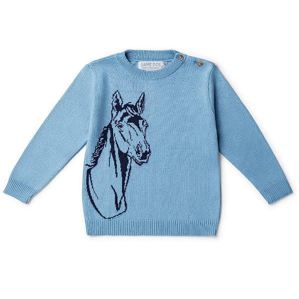 Blusa Infantil Cavalo Masculina Dame Dos tamanho 1